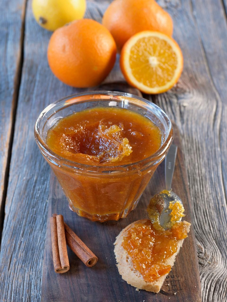 Confiture d'orange aux 4 épices